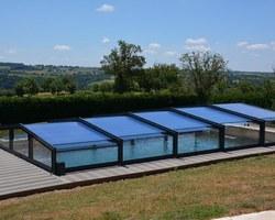 Noriver Piscines - Saint-Symphorien-de-Marmagne - Abris piscine